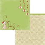 Moxxie - Happy Pawlidays Collection - Christmas - 12 x 12 Double Sided Paper - Santa's Little Helper