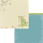 Moxxie - Happy Pawlidays Collection - Christmas - 12 x 12 Double Sided Paper - Define Naughty