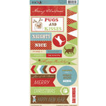 Moxxie - Happy Pawlidays Collection - Christmas - Cardstock Stickers