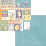 Moxxie - Hoppy Easter Collection - 12 x 12 Double Sided Paper - Easter Cutout