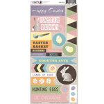 Moxxie - Hoppy Easter Collection - Cardstock Stickers