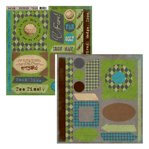 Moxxie - Hole in One Collection - Cardstock Die Cuts