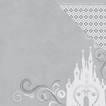 Moxxie - Magical Moments Collection - 12 x 12 Double Sided Paper - Dreams Come True