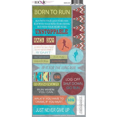 Moxxie - Marathon Collection - Cardstock Stickers