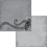 Moxxie - Music In Me Collection - 12 x 12 Double Sided Paper - Nothin but Treble
