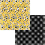 Moxxie - Music In Me Collection - 12 x 12 Double Sided Paper - Band