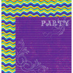 Moxxie - Very Merry Unbirthday Collection - 12 x 12 Double Sided Paper - Party Time