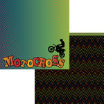 Moxxie - Racing Collection - 12 x 12 Double Sided Paper - Motocross