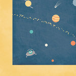 Reach for the Stars Collection - 12 x 12 Double Sided Paper - Outta this World by Moxxie