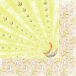 Moxxie - Curve Ball Collection - 12 x 12 Double Sided Paper - It's Outta Here