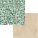 Moxxie - Season's Greetings Collection - Christmas - 12 x 12 Double Sided Paper - Flurries