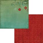 Moxxie - Season's Greetings Collection - Christmas - 12 x 12 Double Sided Paper - Tree Trimming