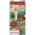 Moxxie - Season's Greetings Collection - Christmas - Cardstock Stickers