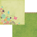 Moxxie - Springtime Collection - 12 x 12 Double Sided Paper - In Bloom
