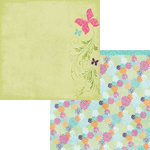 Moxxie - Springtime Collection - 12 x 12 Double Sided Paper - Take Flight
