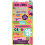 Moxxie - Springtime Collection - Cardstock Stickers