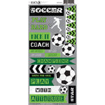 Moxxie - Soccer Star Collection - Cardstock Stickers - Soccer