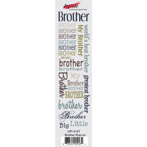 Moxxie - VIP Collection - Rub Ons - Brother