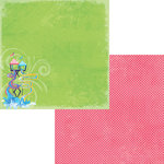 Moxxie - Waterpark Collection - 12 x 12 Double Sided Paper - Slip Slide
