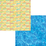 Moxxie - Waterpark Collection - 12 x 12 Double Sided Paper - Water Fun