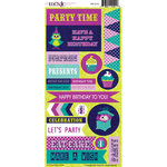 Moxxie - Whoos Birthday Collection - Cardstock Stickers - Birthday