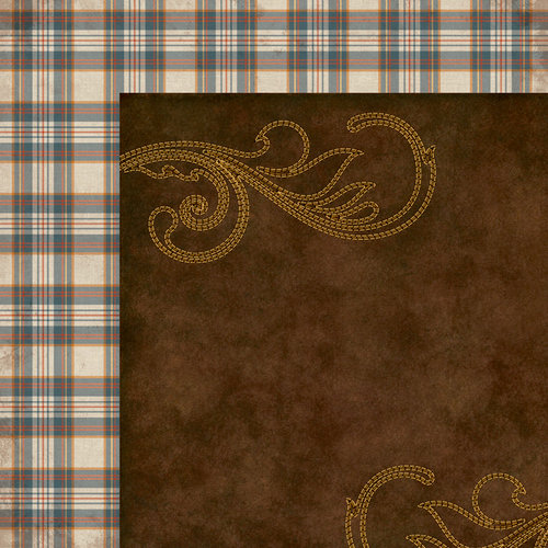 Western Round-Up Collection - 12 x 12 Double Sided Paper - 100 Percent Country by Moxxie