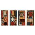 Moxxie - Western Round-Up Collection - Cardstock Die Cuts