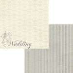 Moxxie - Wedded Bliss Collection - 12 x 12 Double Sided Paper - Wedding