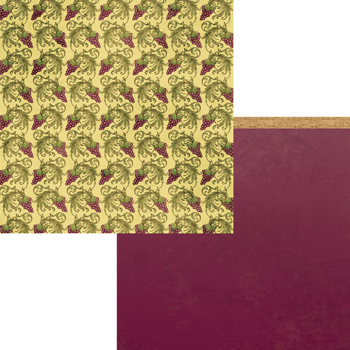 Moxxie - Winery Collection - 12 x 12 Double Sided Paper - Vineyard