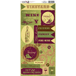 Moxxie - Winery Collection - Cardstock Stickers