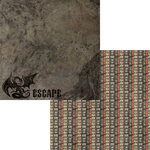 Moxxie - Wizardry Collection - 12 x 12 Double Sided Paper - Escape