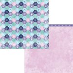 Moxxie - Winterland Collection - 12 x 12 Double Sided Paper - Snow Buddy