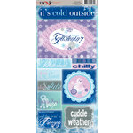 Moxxie - Winterland Collection - Cardstock Stickers - Elements