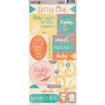 Wee Ones Collection - Cardstock Stickers - Elements by Moxxie
