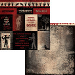 Moxxie - Zombie Attack Collection - 12 x 12 Double Sided Paper - Zombie Cutouts
