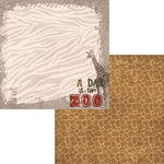 Moxxie - Zoo Collection - 12 x 12 Double Sided Paper - Day at the Zoo