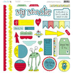 Nikki Sivils - My Lil' Monster Collection - 12 x 12 Punch Outs