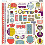 Nikki Sivils - Get Well Soon Collection - 12 x 12 Punch Outs
