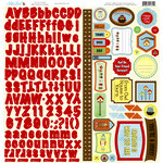 Nikki Sivils - You're A Hoot Collection - 12 x 12 Cardstock Stickers