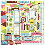 Nikki Sivils - Gingerbread Land Collection - Christmas - 12 x 12 Cardstock Stickers - Gingerbread Element