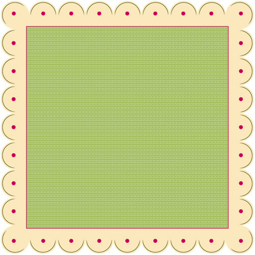 Nikki Sivils - Beatrice Collection - 12 x 12 Die Cut Paper - Introducing Beatrice