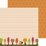Nikki Sivils - Beatrice Collection - 12 x 12 Double Sided Paper - Trees for Beatrice