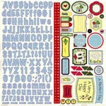 Nikki Sivils - We Are Family Collection - 12 x 12 Cardstock Stickers - We Are Family