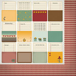 Nikki Sivils - Messages Collection - 12 x 12 Double Sided Paper - Organizing Files