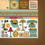 Nikki Sivils - Messages Collection - 12 x 12 Double Sided Paper - My Desktop