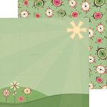 Nikki Sivils - Max and Mollie Collection - 12 x 12 Double Sided Paper - Candy for Max