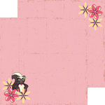 Nikki Sivils - Max and Mollie Collection - 12 x 12 Double Sided Paper - Miss Mollie