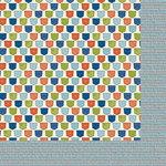 Nikki Sivils - Noah Collection - 12 x 12 Double Sided Paper - Noah's Pockets