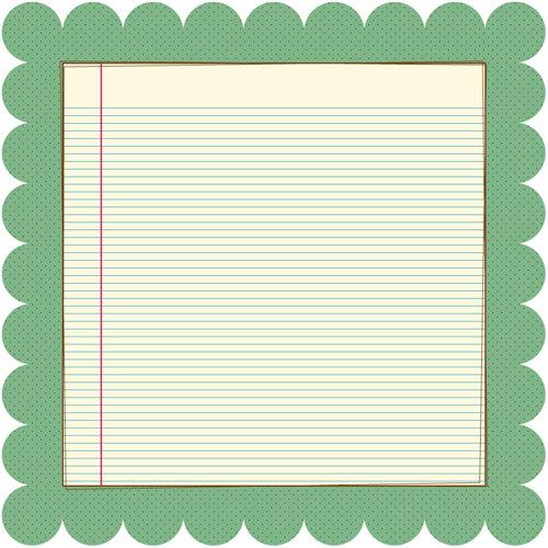 Nikki Sivils - Summer Collection - 12 x 12 Die Cut Paper - It's Summer