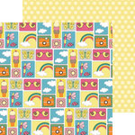 Nikki Sivils - Summer Collection - 12 x 12 Double Sided Paper - Pictures of Summer